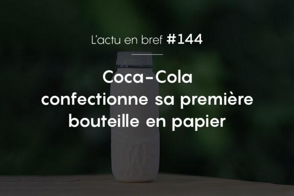 actualité Coca-Cola bouteille papier