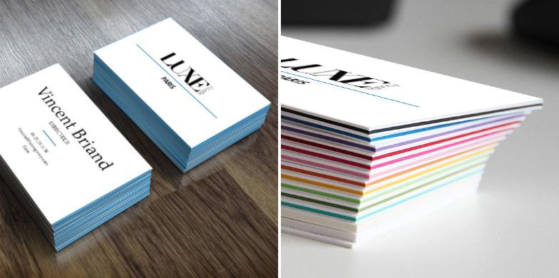 Decouvrez La Carte De Visite Multicolor Des 25 Exemplaires Seulement