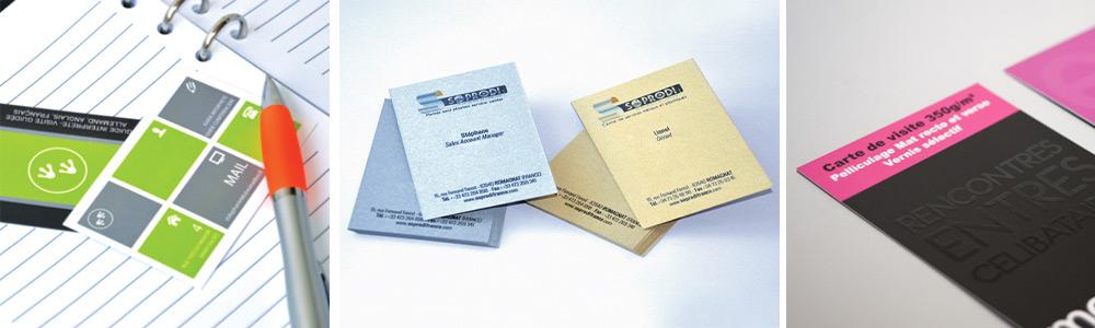 Recevez Gratuitement Vos Echantillons De Cartes Visite Ultra Epaisses