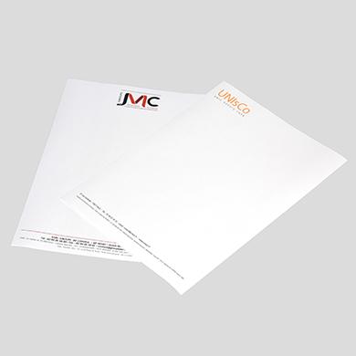 Papiers entête imprimés