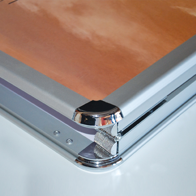 Angle stop-trottoir imprimé A0
