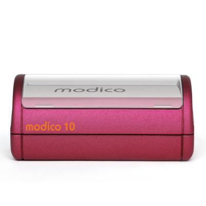 Tampon rouge M10 automatique imprimé