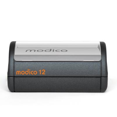 Tampon automatique noir M12 imprimé