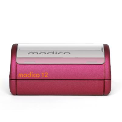 Tampon rouge automatique M12 imprimé