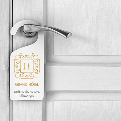 Accroche Porte Personnalisé Impression Accroche Porte - Accroche porte