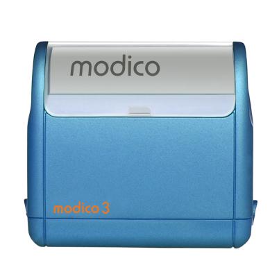 Tampon automatique M3 bleu imprimé