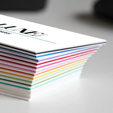 Carte De Visite Multicolor