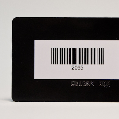 Carte RFID - zone de défonce