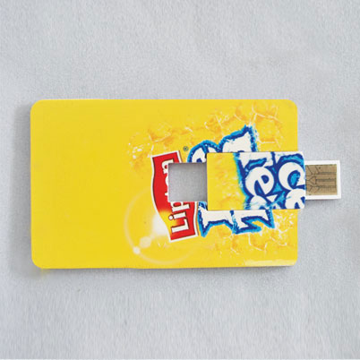 Impression clé USB 'card'