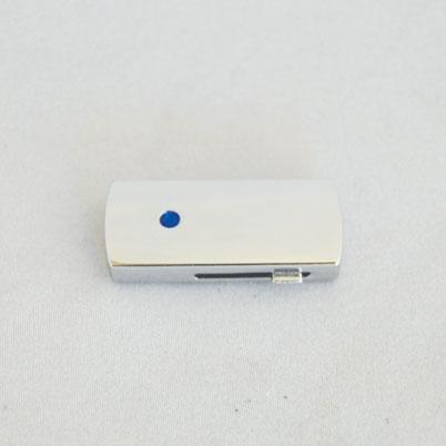Face non imprimée de la clé USB 'rétractable'