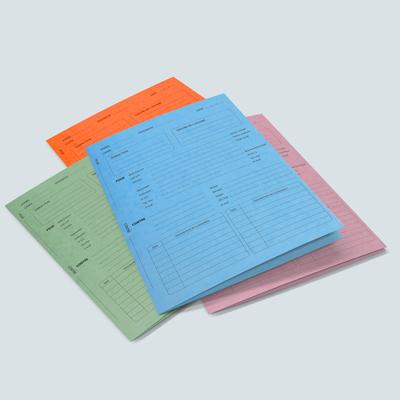 Pochette administrative imprim�e
