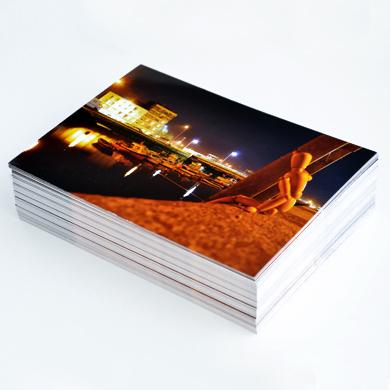 Impression en ligne carte postale