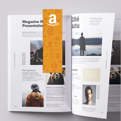 Exemple de marque page imprim�