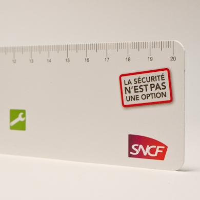 Règle PVC - 20cm