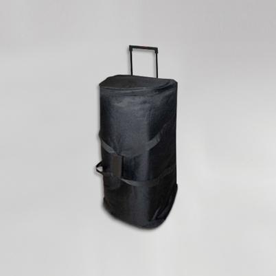 Sac de transport livré avec impression d'un mur d'image courbé textile