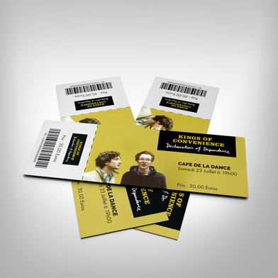 Impression Billetterie Carnet Ticket A Souche