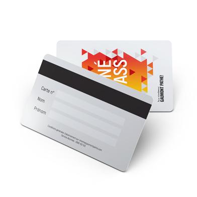 Impression Carte Metal Recto Verso
