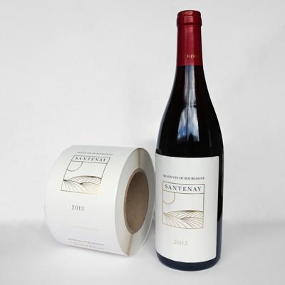 Etiquette Bouteille Vin