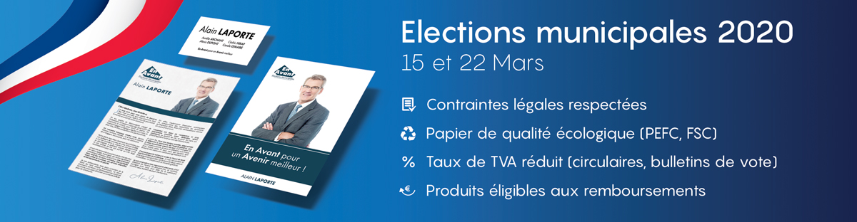 Impression Bulletin De Vote Electoraux Municipale 2020