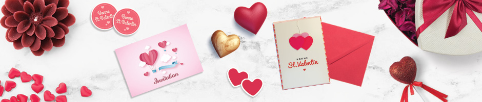 Impression Saint-Valentin